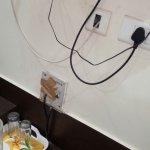 plug points are damaged