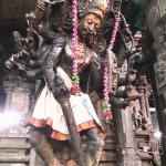 A sculpture inside Meenakshi Temple,Madurai