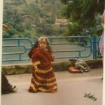 In front of Naini lake