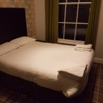 The bed on our arrival