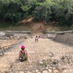 From the top of the main ruins in Ek Balam!