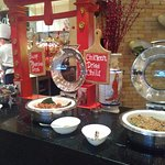 Chinese food station