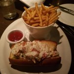 Lobster roll, very good