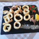 fried squid - yummy!