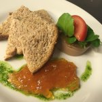 Duck pate with a orange marmalade