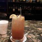 This is at the Lobby bar. Its one of Jamals delicious drinks..The Long Island Iced Tea