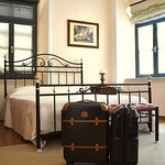Phaedra Hotel :Phaedra Jr.Suite on the first floor with balcony.