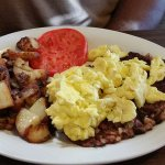Classic House Hash with Scramble