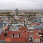 View of Riga from St Peter's Church Tower Foto