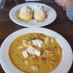 Chuppe de Camerones - Pictured below. Fabulous Shrimp Stew..Our favorite dish.