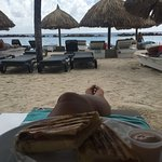 Cabana Beach Curacao Foto
