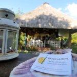 restaurante desde el Jardin