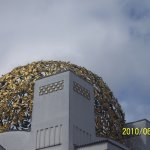 """The Golden Cabbage; Photo # 2: Closeup of the """"cabbage Roof"""""""
