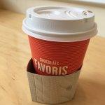 Pretty taste hot chocolate