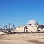 New Amman in the backdrop of Old Amman