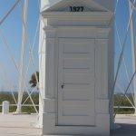 Gasparilla Island Lighthouse door