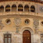 Parte de la fachada del Ayuntamiento