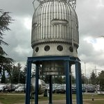 Big European Bubble Chamber in the Garden of the Microcosm