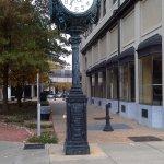 Montgomery, clock near Court Square