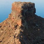 Skaros Rock from Imerovigli