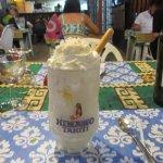 Crème glacée au coco