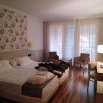 Habitación doble ( junto a salón con sofá cama)