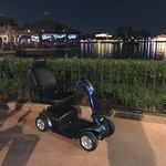 Rental Scooter at Disney