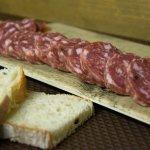 Salam d'la Duia (salame tradizionale lomellino sotto grasso)
