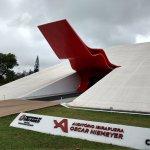 Niemeyer Pavillion outside