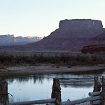 View of Colorado River and buttes from our patio