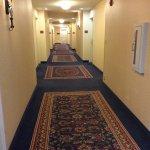 Very clean hallways