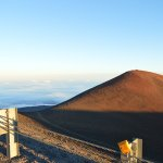 From the Mauna Kea Summit just before sunset