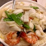 Shrimp with Veggies