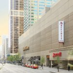 Toronto Marriott Bloor Yorkville Hotel sits near Bloor Street shopping and Eaton Centre.