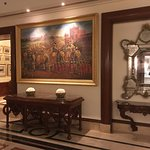 Collection of paintings adoring the walls