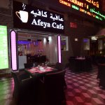 enjoy to our cafe afeya