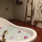 The super clean bathroom