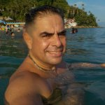 a swim before lunchg