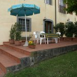 Terrace belong to Apt. D-Ilaria for 6 persons