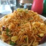 Mandi,paneer butter masala, veg fried rice
