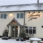 Festive atmosphere at The Yeaveley Arms