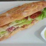 sandwich sur place ou à emporter