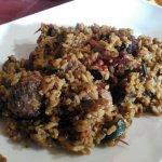 arroz con abondigas