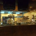 Chef making my Lamb Kebab in Indigo