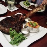 3lb Tomahawk Ribeye - Medium Rare Perfection