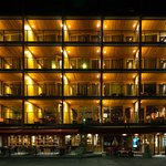 Frontansicht Eiger Selfness Hotel