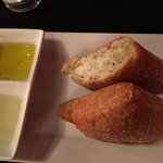 Delicious bread and dipping oils