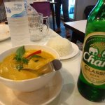 Soup and beer
