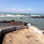 Kanyakumari beach-Southern modst tip of Indian subcontinent