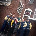The Jive Aces band at Louis Armstrong House Museum - Dec 2017